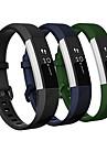 Watch Band varten Fitbit Alta HR Fitbit Urheiluhihna Silikoni Rannehihna