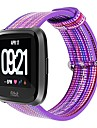 Watch Band for Fitbit Versa Fitbit Classic Buckle Nylon Wrist Strap
