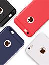 Кейс для Назначение Apple iPhone 8 / iPhone 8 Plus Рельефный Кейс на заднюю панель Однотонный Мягкий ТПУ для iPhone X / iPhone 8 Pluss /