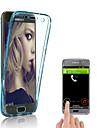 Coque Pour Samsung Galaxy S9 Plus / S9 Transparente Coque Couleur Pleine Flexible TPU pour S9 / S9 Plus / S8 Plus