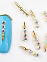 10 pcs Módní design Ozdoby na nehty Pro nail art manikúra pedikúra S kamínky / Nehtové šperky