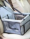 Собаки Кролики Коты Переезд и перевозные рюкзаки Кровати Животные Корпусы Компактность Мягкий Чехол в комплекте Однотонный Мода Синий Светло-синий Черный