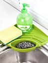 องค์การครัว ราว & ที่จับ Plastic Gadget ครัวสร้างสรรค์ 1pc