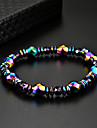 Women\'s Black Gemstone Stylish Strand Bracelet Bracelet - Creative Unique Design, Romantic, Elegant Bracelet Rainbow For Birthday Daily