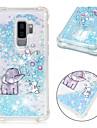 tok Για Samsung Galaxy S9 Plus / S9 Ανθεκτική σε πτώσεις / Ρέον υγρό / Με σχέδια Πίσω Κάλυμμα Λάμψη γκλίτερ / Ελέφαντας Μαλακή TPU για S9 / S9 Plus / S8 Plus