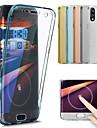 غطاء من أجل Huawei P20 Pro / P20 lite شفاف غطاء كامل للجسم لون سادة ناعم TPU إلى Huawei P20 / Huawei P20 Pro / Huawei P20 lite / P10 Plus / P10 Lite / P10