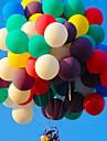 Léggömbök Kerek Kreatív Buli Party dekoráció 100db