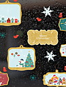 Window Film & Stickers Decoration Christmas Holiday PVC(PolyVinyl Chloride) Cool