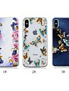 Coque Pour Apple iPhone X / iPhone 8 Plus Motif Coque Papillon Flexible TPU pour iPhone X / iPhone 8 Plus / iPhone 8