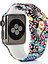 Bracelet de Montre  pour Apple Watch Series 4/3/2/1 Apple Bracelet Sport / Boucle Moderne Silikon Sangle de Poignet