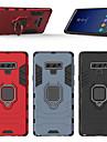 ケース 用途 Samsung Galaxy Note 9 バンカーリング バックカバー 鎧 ハード PC のために Note 9