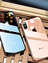 Carcasă Pro Apple iPhone 8 / iPhone XS Max Galvanizované / Ultra tenké / Průsvitný Zadní kryt Jednobarevné Měkké TPU pro iPhone XS / iPhone XR / iPhone XS Max