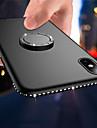 Pouzdro Uyumluluk Apple iPhone X / iPhone 8 Plus Yüzüklü Tutacak / Ultra İnce / Buzlu Arka Kapak Yapay Elmas Yumuşak TPU için iPhone X / iPhone 8 Plus / iPhone 8