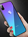 Etui Til Apple iPhone XR / iPhone XS Max Stødsikker / Gennemsigtig Bagcover Ensfarvet Hårdt Tempereret glas for iPhone XS / iPhone XR / iPhone XS Max