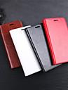 Etui Til Xiaomi Xiaomi Pocophone F1 / Redmi 6 / Mi 8 Lommebok / Kortholder / Flipp Heldekkende etui Ensfarget Hard PU Leather til Xiaomi Redmi Note 5 Pro / Xiaomi Redmi Note 6 / Xiaomi Pocophone F1
