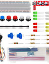 Keyes kit di componenti di base 501c per appassionati di arduino elettronico