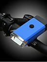 LED Pyöräilyvalot Polkupyörän etuvalo Maastopyöräily Pyöräily Kannettava Kestävä Kevyt 400 lm 3 AAA paristot Valkoinen Pyöräily Kalastus / ABS