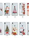 Coque Pour Apple iPhone XS / iPhone XS Max Transparente / Motif Coque Noel Flexible TPU pour iPhone XS / iPhone XR / iPhone XS Max
