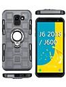 Кейс для Назначение SSamsung Galaxy J2 PRO 2018 Защита от удара / Кольца-держатели Кейс на заднюю панель броня Мягкий ТПУ для J8 (2018) / J7 (2018) / J6 (2018)