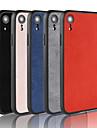 Кейс для Назначение Apple iPhone XR / iPhone XS Max Матовое Кейс на заднюю панель Однотонный Твердый ТПУ для iPhone XS / iPhone XR / iPhone XS Max