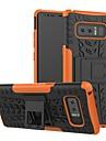 Etui Käyttötarkoitus Samsung Galaxy S9 Plus / S8 Plus Iskunkestävä / Tuella Takakuori Geometrinen printti Kova Silikoni / PC varten S9 / S9 Plus / S8 Plus