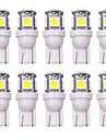 SO.K 10pcs T10 Bil Elpærer 5 W 160 lm LED Indvendige Lights