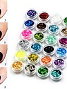 24 pcs Sequins Best Quality Creative nail art Manicure Pedicure Daily Fashion