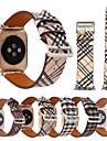 Ver Banda para Apple Watch Series 4/3/2/1 Apple Correa de Cuero Piel / Cuero Autentico Correa de Muneca