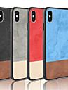 etui til Apple iPhone xr xs xs max frostet bagcover solid farvet hårdt pu læder til iPhone x 8 8 plus 7 7plus 6s 6s plus se 5 5s