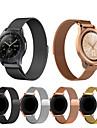 حزام إلى Gear Sport / Gear S2 Classic / Samsung Galaxy Watch 42 Samsung Galaxy عصابة الرياضة / عقدة ميلانزية ستانلس ستيل شريط المعصم