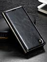 CaseMe Etui Til Sony Xperia Z3 / Xperia Z2 Lommebok / Kortholder / med stativ Heldekkende etui Ensfarget Hard PU Leather til Sony Xperia XZ3 / Xperia XZ2 Compact / Xperia XZ2