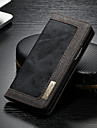 CaseMe Etui Käyttötarkoitus Samsung Galaxy S9 Lomapkko / Korttikotelo / Tuella Suojakuori Yhtenäinen Kova tekstiili varten S9