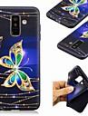 غطاء من أجل Samsung Galaxy A8 Plus 2018 / A7 (2018) نموذج غطاء خلفي فراشة ناعم TPU إلى A6 (2018) / A6+ (2018) / A7(2018)