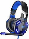 kotion hver g2000 stereo gaming headset til xbox en ps4 pc, surround lyd over-oeret hodetelefoner med stoey avbryter mic, led lys, volumkontroll for laptop, mac, ps3, nintendo switch spill