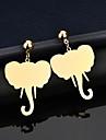 Γυναικεία Κλασσικό Κρεμαστά Σκουλαρίκια Επιχρυσωμένο Σκουλαρίκια Ζώο Κλασσικό Κοσμήματα Χρυσό Για Δώρο Δρόμος Αργίες 1 Pair