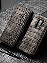 WHATIF Funda Para Samsung Galaxy S9 Plus Cartera / Soporte de Coche / Antigolpes Funda de Cuerpo Entero Un Color Dura Cuero de PU para S9 Plus