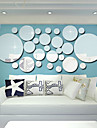 Koriste-seinätarrat - Peilitarrat 3D Olohuone / Makuuhuone / Keittiö