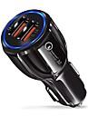 Car Car Charger 2 USB Ports for 9 V