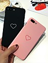 Huelle Fuer Apple iPhone 8 Plus / iPhone 7 Plus Ultra duenn Rueckseite Herz Hart PC fuer iPhone 8 Plus / iPhone 7 Plus