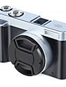 QQT V12 vlogging Zamanlama İşlevi / Çok Fonksiyonlu / Hafif ve kullanışlı 64 GB 1080P / 60fps 16 mp 8X 1920 x 1080 Piksel 3.2 inç 16.0MP CMOS MPEG-4 Tek Atış / Arka Arkaya Çekim Modu / Zaman Atlamalı