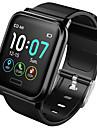 B1 Hombre Reloj elegante Android iOS Bluetooth Impermeable Pantalla Tactil Monitor de Pulso Cardiaco Medicion de la Presion Sanguinea Deportes Reloj Cronometro Podometro Recordatorio de Llamadas