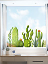 Window Film & Stickers Decoration Contemporary / 3D Flower / Floral PVC(PolyVinyl Chloride) Window Sticker / Anti-Glare