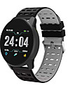 B2 Unisex Smartwatch Android iOS Bluetooth Waterproof Touch Screen Heart Rate Monitor Blood Pressure Measurement Sports Stopwatch Pedometer Call Reminder Activity Tracker Sleep Tracker