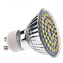 3W GU10 LED Spotlight MR16 48 SMD 3528 300-350lm Natural White 5500K AC 220-240V